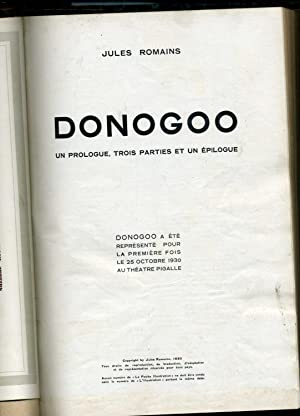 L'ILLUSTRATION. Théâtre Moderne :TOPAZE-DONOGOO-UN AMI D'ARGENTINE-LA BROUILLE-COTE D'...