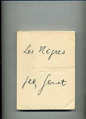 LES NEGRES CLOWNERIE . Edition originale: GENET ( Jean