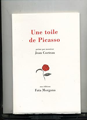 UNE TOILE DE PICASSO. Poème.: COCTEAU (Jean)