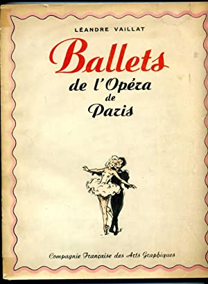 BALLETS DE L?OPÉRA DE PARIS. Illustrations de L. Caplain.