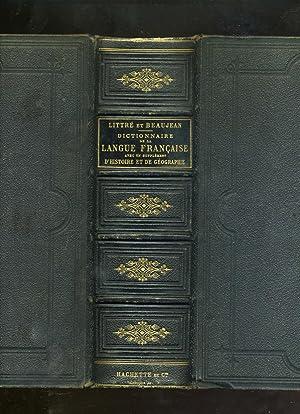 DICTIONNAIRE DE LA LANGUE FRANÇAISE. Abrégé du: LITTRÉ (Paul-Emile) &