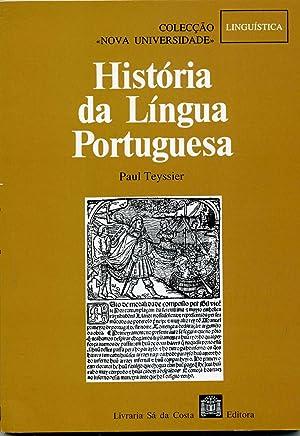 HISTORIA DA LINGUA PORTUGUESA . Traduçao (: TEYSSIER ( Paul