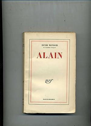 ALAIN . SOUVENIRS - PAGES INÉDITES -: MONDOR (Henri)