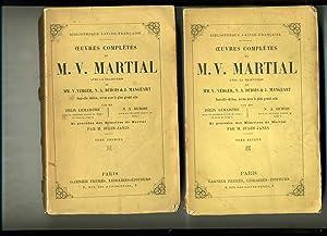 OEUVRES COMPLÈTES AVEC LA TRADUCTION DE MM.: MARTIAL