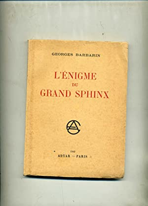 L'ENIGME DU GRAND SPHINX