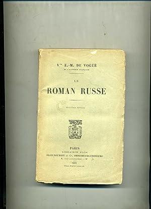 LE ROMAN RUSSE: VOGUË (Vte E.-M.