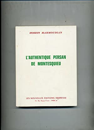 L'AUTHENTIQUE PERSAN DE MONTESQUIEU