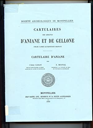CARTULAIRE D'ANIANE