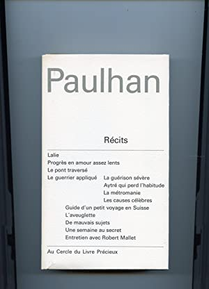 OEUVRES COMPLÈTES . ( 5 VOLUMES ): PAULHAN ( Jean