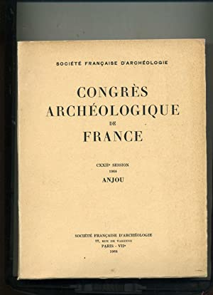 CONGRES ARCHÉOLOGIQUE DE FRANCE . 122e session, 1964, ANJOU.