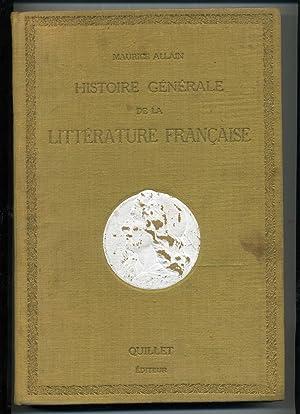 HISTOIRE GÉNÉRALE DE LA LITTÉRATURE FRANÇAISE .: ALLAIN ( Maurice