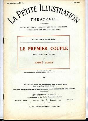 LE PREMIER COUPLE. Pièce en un acte: DUMAS (André)