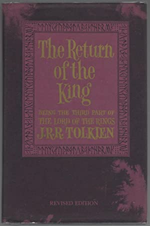 The Return of the King, Being the Third Part of The Lord of the Rings