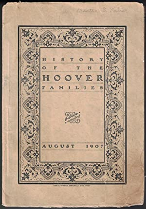 History of the Hoover Families August 1907