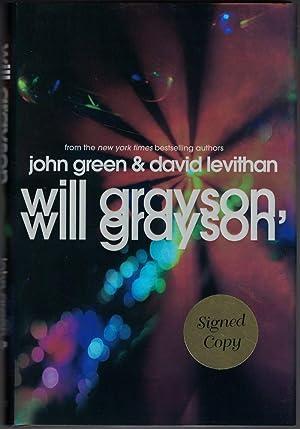 Will Grayson, Will Grayson: GREEN, John and