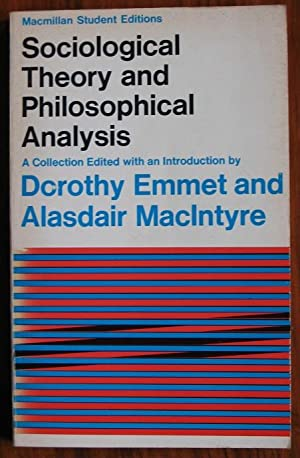 sociological analytical theories Analytical marxism 314  15 contemporary theories of modernity 565  postmodemism and sociological theory 619 ndix.