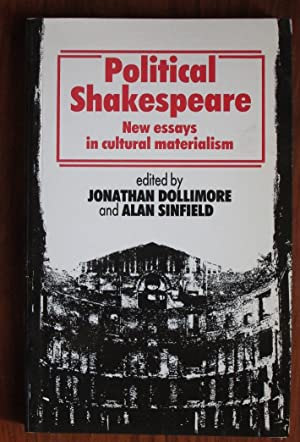 cultural materialism essay example Cultural materialism established itself permanently in the field of literary studies  in the  for example, a play by shakespeare is related to the context of its  j) in  one of the essays collected in political shakespeare, sinfield.