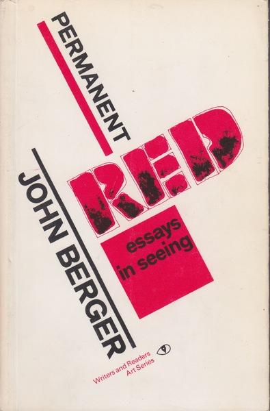 Permanent red essays in seeing