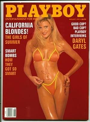 PLAYBOY Magazine 1991 9108 August: Hugh Hefner ( ed)