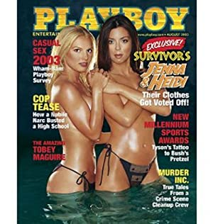 PLAYBOY Magazine 2003 0308 August: Hugh Hefner (ed.)