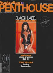 Australian Penthouse BLACK LABEL 2001 0106 June