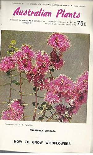 Australian Plants Volume 9: Issues 69-76