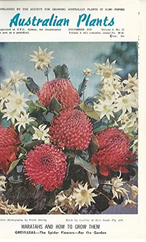Australian Plants Volume 4: Issues 29-36