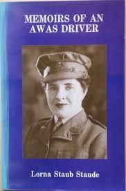 Memoirs of a AWAS Driver: Lorna Staub Staude