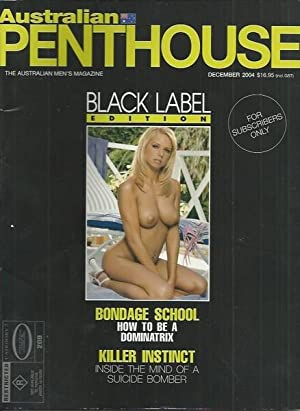 Australian Penthouse BLACK LABEL 2004 200412 December