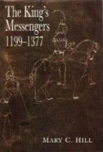 KING'S MESSENGERS, THE : 1199-1377: Paget, Mary C.