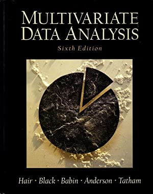 Multivariate Data Analysis. (Sixth edition)