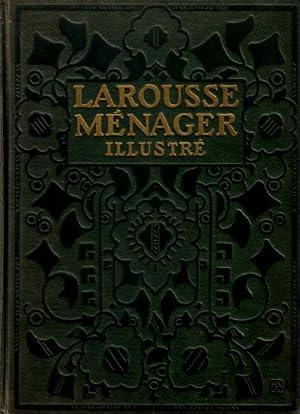 Larousse ménager. Dictionnaire illustré de la vie: Chancrin, E., F.