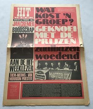 Hitweek. Vakblad voor twieners. Weekblad No. 19,: Ridder, Willem de,