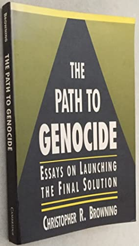 essay final genocide launching path solution 1 later, he wrote from 'ethnic cleansing' to genocide to the 'final solution': the evolution of nazi jewish policy, 1939-1941 and nazi policy: decisions for the final solution 2 always focusing on details, [end page 260] these essays are masterpieces of historical research and writing.