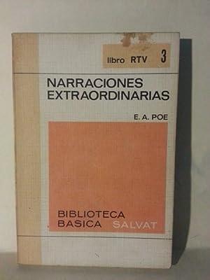NARRACIONES EXTRAORDINARIAS. prólogo De Narciso Ibañez Serrador. .: Poe, Edgar Allan.