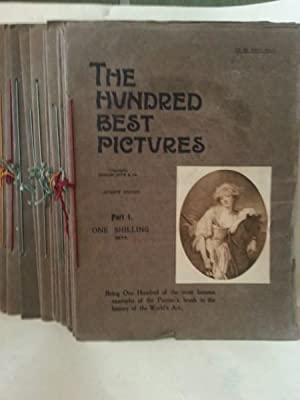 THE HUNDRED BEST PICTURES. A Visit, at Home, to the Picture Galleries of the World. Set Completo ...