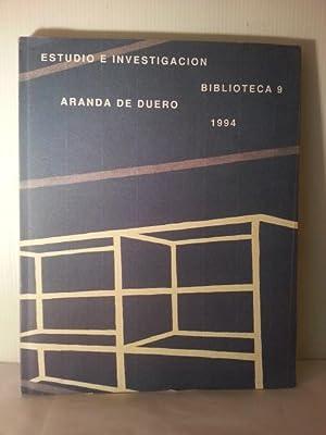 BIBLIOTECA 9 . Estudio e Investigacion.: Aranda De Duero. Varios Autores.