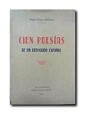 Cien Poesias De Un Refugiado Español: Manella, Miguel Burgos