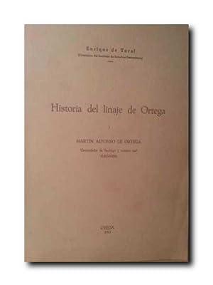 Historia Del Linaje De Ortega. I . Martin Alonso De Ortega. Comendador De Santiago y Contino Real. ...