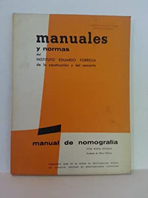 MANUAL DE NOMOGRAFÍA.