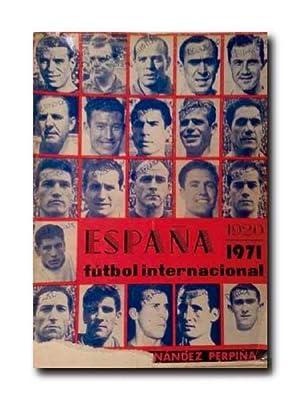 España 1920 - 1971. Futbol Internacional.: Hernandez Perpiña, Jose