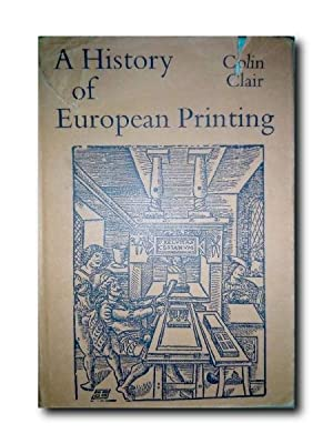 A HISTORY OF EUROPEAN PRINTING