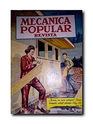 MECÁNICA POPULAR REVISTA. JULIO 1951. Volumen 9. Número 1