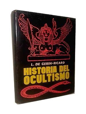 HISTORIA DEL OCULTISMO. Egipto.- Caldea.- Los Judios.-: Gerin - Ricard