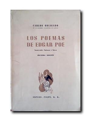 LOS POEMAS DE EDGAR POE: Obligado, Carlos