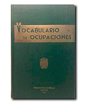 VOCABULARIO DE OCUPACIONES.