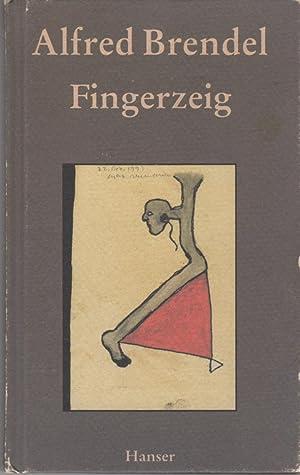 FINGERZEIG. 45 Texte.: Brendel, Alfred.