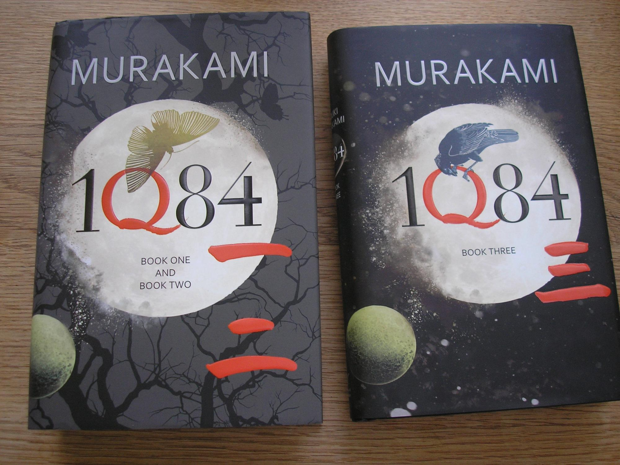 1Q84: Books 1 & 2 and Book 3 *** DW SIGNED TWO BOOK SET OF UK 1st EDITION 1st PRINTING ...