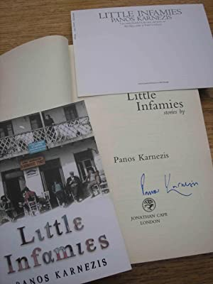 Little Infamies +++SIGNED FIRST++COLLECTABLE ++: Panos Karnezis