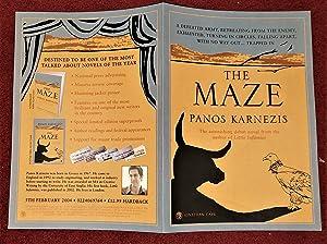 The Maze ***SIGNED***: Panos Karnezis